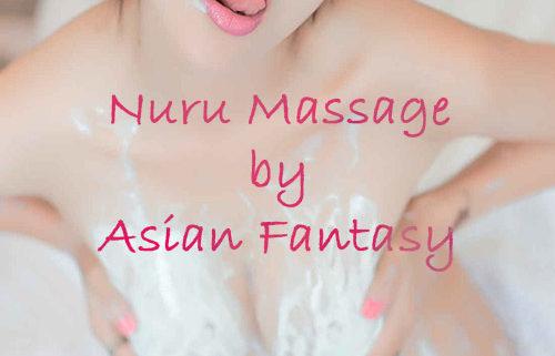 Asian escort is providing customer a nuru massage