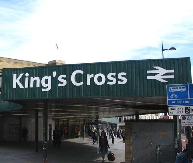 kings cross station London