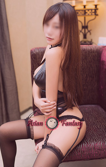 Busty Asian escort
