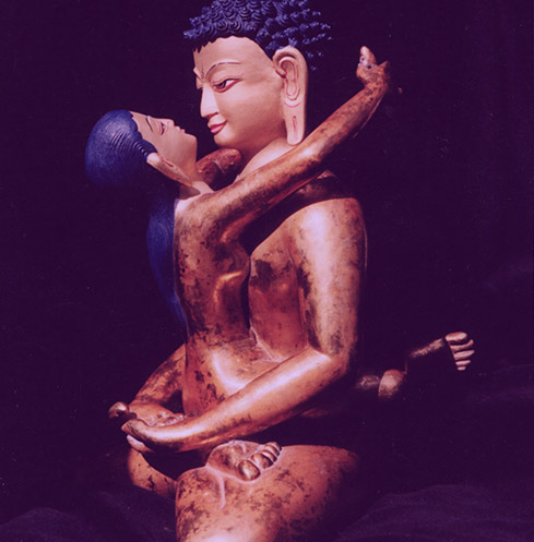 the statue of tantric massage