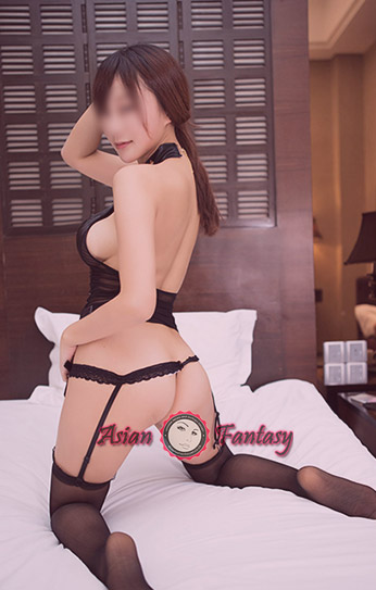 Busty Asian escort